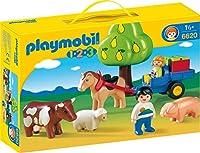プレイモービル 1.2.3 農場セット 6620