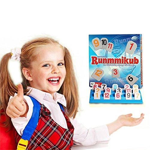 Wishtime ラミィキューブ 脳トレ ボードゲーム 多人数遊び 小学生 知育玩具 おもちゃ