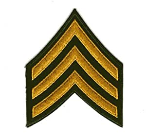 3等軍曹 階級章ワッペン