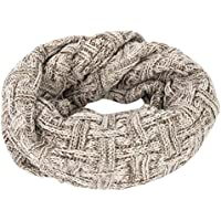 Womens Men Infinity Circle Loop Scarf Winter Neck Warmer Thick Ribbed Knit