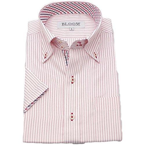 (ブルーム) BLOOM 2017夏 オリジナル 半袖 ワイシャツ クールビズ 形態安定 10 5L