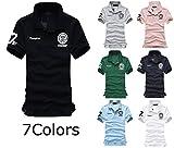 【BOSSA NOVA】 ポロシャツ ボタンダウン メンズポロシャツ ゴルフウェア 大きいサイズ ( 2S S M L 2L 3L 4L 5L ) 7色展開 メンズ BOSSA0036