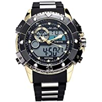 Sport Digital Clock Luminous Display Outdoor Waterproof Watch for Men