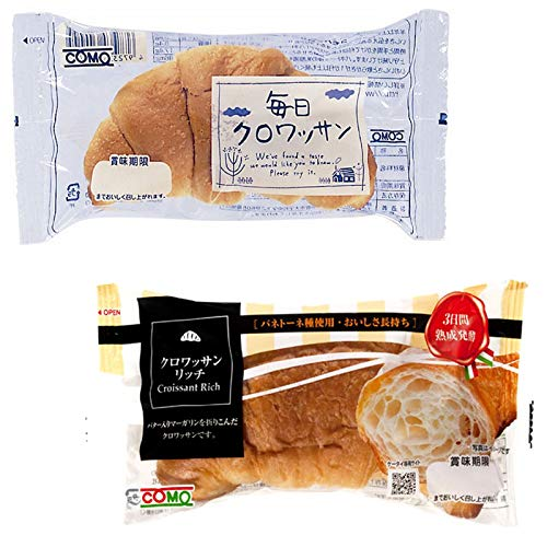 コモパン 毎日クロワッサン(20個)& クロワッサンリッチ(20個) 【セット売り】