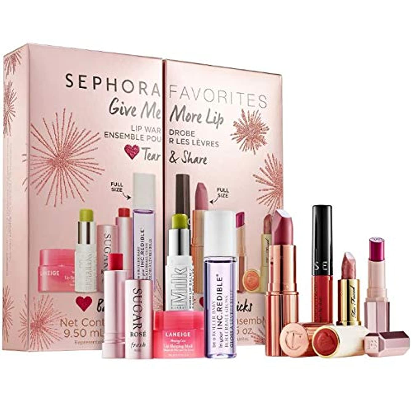 パテ安価な邪魔するセフォラ リップセット Sephora SEPHORA FAVORITES Give Me More Lip メイクアップ リップ グロス リップケア