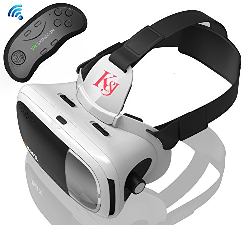 K&J 3D VRゴーグル vrヘッドセット•メガネ ...