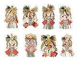 【 選べる 8種】 しめ縄 正月飾り リース 干支 迎春飾り