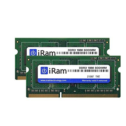 iRam Technology iMac Late2015 27インチRetina 5K 用メモリ 16GB   8GB 2枚組   IR8GSO1866D3/2