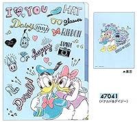 ドナルド&デイジー / ディズニー 5インデックス A4クリアファイル 47041