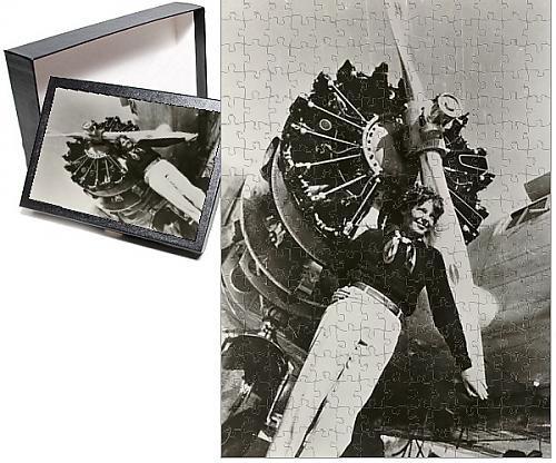 フォトジグソーパズルof Amelia Earhart ( 1897–1937)