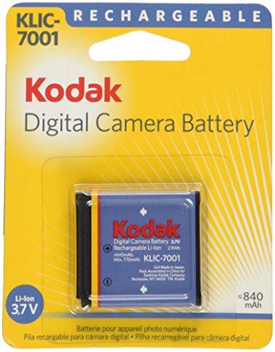 Kodak リチウムイオン充電式電池 KLIC-7001