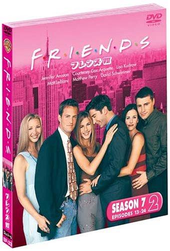フレンズ 7thシーズン 後半セット (13~24話・3枚組) [DVD]の詳細を見る