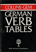 Collins Gem German Verb Tables and Grammar (Collins Gems)