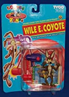 Wile E. Coyote Action Figure with Backfiring Acme Mallet