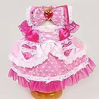 マザーガーデン Mother garden うさももドール 着せ替え人形 服 ラブリーハートドレス Mサイズ用 お人形遊び きせかえ ドール 着せ替え服
