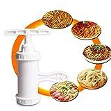 Best 麺メーカー - 卓仕朗 パスタマシン プレス機  回転式  製麺機 自宅で簡単に楽しく 麺作り プラスチック製 Review