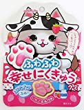 扇雀飴 にくきゅうグミいちごミルク味 30g×6袋