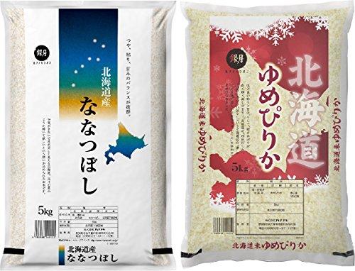 【精米】30年産 白米 食べ比べ お試しセット 10kg (...