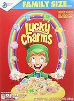 ラッキー チャーム ファミリーサイズ 581 g (パックの 2) Lucky charm family 581 g (Pack of 2)