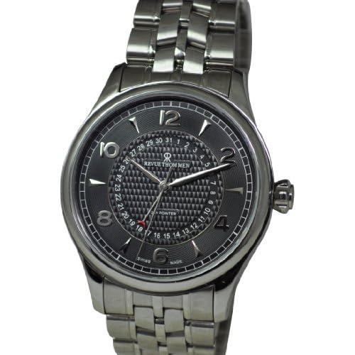 [レヴュートーメン]REVUE THOMMEN 腕時計 XLARGE DAY POINTER 10012.2137 メンズ 【正規輸入品】
