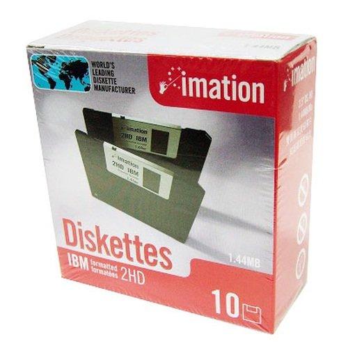 イメーション IMATION 3.5インチフロッピーディスク DOS/Vフォーマット 10枚入