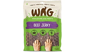 Beef Jerky 750g, Grain Free Hypoallergenic Natural Dog Treat Chew, Perfect for All Sizes & Breeds