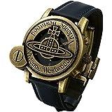 ヴィヴィアンウエストウッド (Vivienne Westwood) CAGE メンズ ウォッチ 腕時計 アンティークゴールド ヴィヴィアン