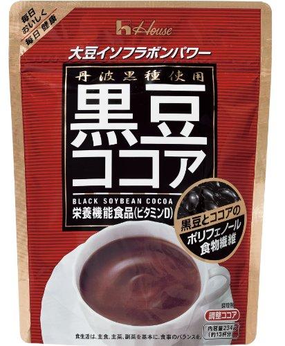 ハウスウェルネス 黒豆ココア 234g