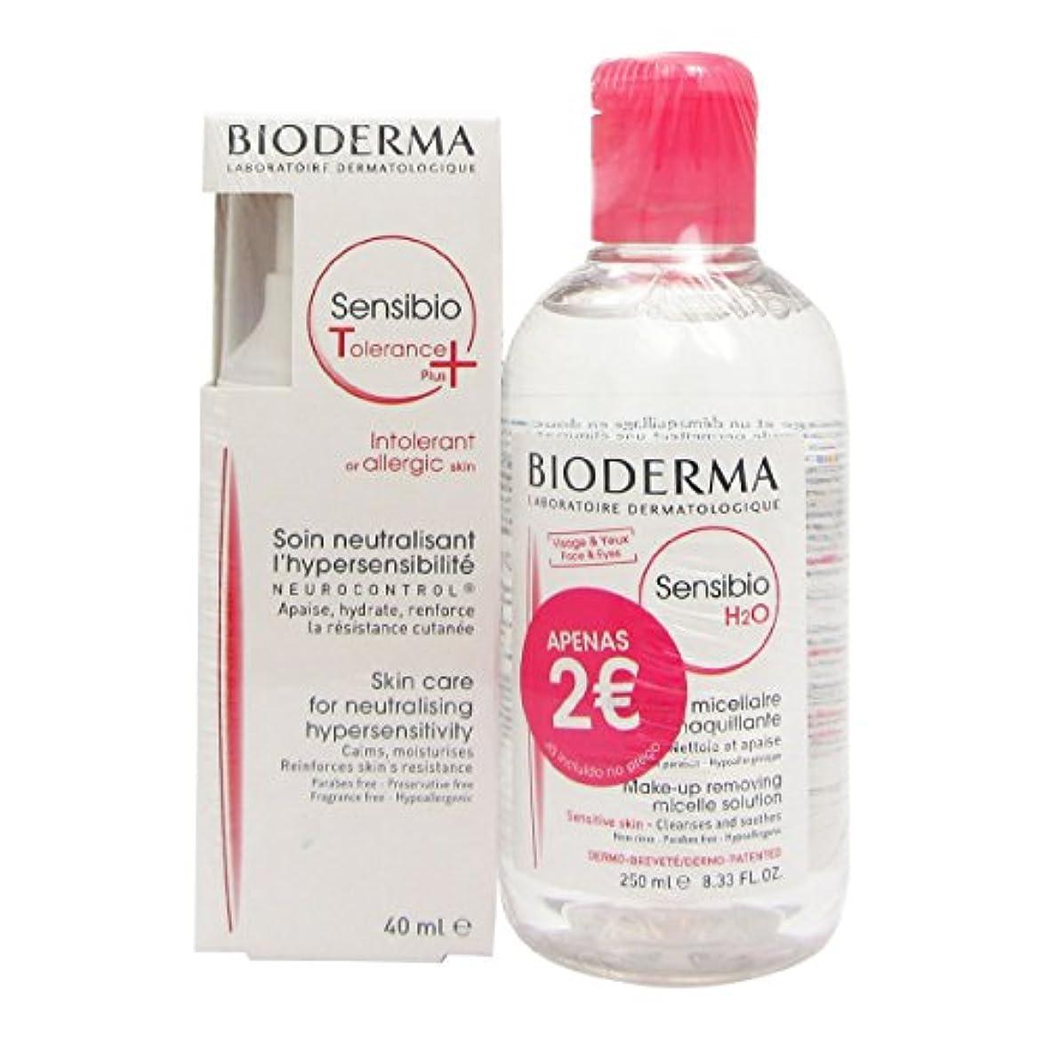 物思いにふける立ち寄る準備Bioderma Pack Sensibio Tolerance Plus + H2o 250ml [並行輸入品]