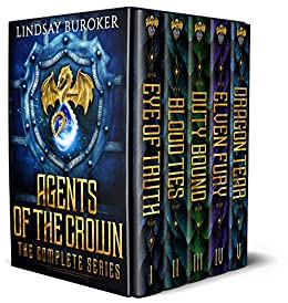 Agents of the Crown (The Complete Series: Books 1-5): An epic fantasy boxed set by [Buroker, Lindsay]