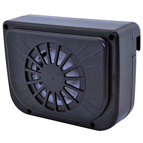 ソーラー電源式ファン 小型サーキュレーター ソーラー電池で電源不要 車内の換気用に FMTCARFA...