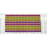 KESS InHouse Jane Smith Under the Sea Shells Purple Yellow Fleece Baby Blanket 40 x 30 [並行輸入品]