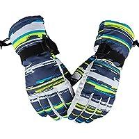 スポーツ手袋冬防水ハンティング/スキー/サイクリングミトングリーン/ネイビー