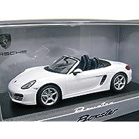 Porsche特注 1/43 ポルシェ ボクスター 981 (キャララホワイト)