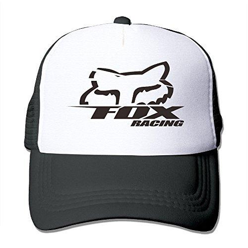 popyolユニセックスFox Racingロゴ調節可能なメ...