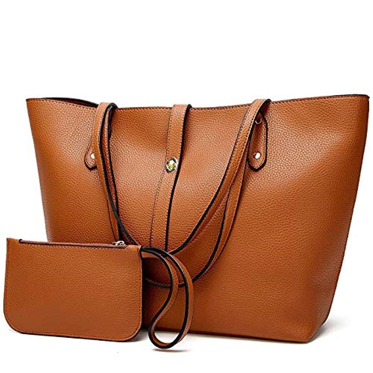 覆す抽選偏心[TcIFE] ハンドバッグ レディース トートバッグ 大容量 無地 ショルダーバッグ 2way 財布とハンドバッグ