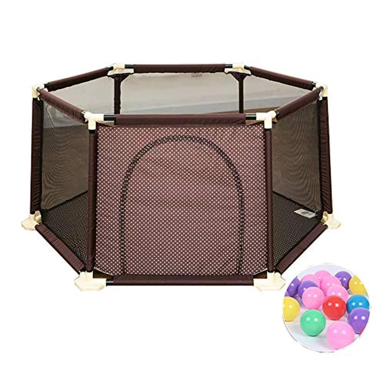 200ボールを持つベビープレイペンターアンチロールオーバー幼児の安全なプレイヤードアンチコリジョン保育園センター幼児の遊びゲームフェンス (サイズ さいず : 180×66.5cm)