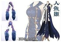 コスプレ衣装 シノアリス SiNoAlice 人魚姫 風 髪飾り+耳飾り+ウィッグ付き 豪華版 女性S-Lサイズ