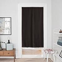 PONYDANCE 遮光のれん 暖簾 85x150cm ブラウン