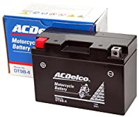ACDelco [ エーシーデルコ ] シールド型 バイク用バッテリー [ 液入充電済 ] DT9B-4