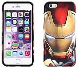【Avengers / アベンジャーズ】iPhone6 iPhone6s 対応 Avengers MARVEL Silicon Bumper Case【 iphone 6 plusケース アメコミ アイアンマン キャプテンアメリカ スパイダーマン アベンジャーズ iphone6 アイフォン6 アイフォン6プラス アイフォン6カバー iphone6ケース 】【ip-337】 (iPhone6 iPhone6s, アイアンマン)