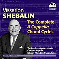 Complete a Cappella Choral Cycles by Russian Conservatory Chorus (2013-05-03)