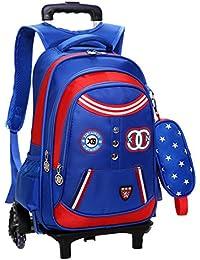 (ピーキー) Peigee 3wayリュックサック 着脱式デイパック キャリーバッグ トラベルバッグ キャスターバッグ 星柄 軽量 防水 旅行 通学