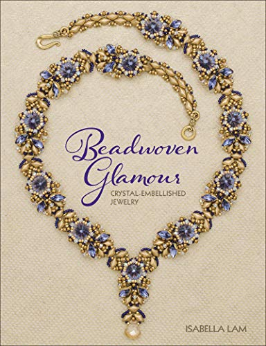 Beadwoven Glamour: Crystal-embellished jewelry