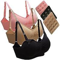 マタニティブラジャー 授乳ブラジャー 授乳ブラ マタニティブラ ノンワイヤー 妊婦 産後 矯正下着 延長ホック付き スポーツブラジャーとしても使用可能