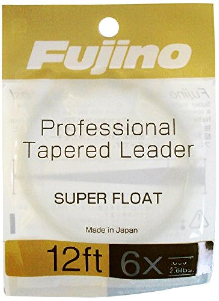 増強するしつけコースFujino(フジノ) fujino(フジノ) スーパーフロートリーダー 12ft 2個パック F-5
