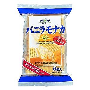 オハヨー乳業 バニラモナカ 110ml×6本×6袋