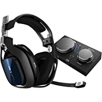 ASTRO Gaming アストロ ゲーミングヘッドセット PS5 PS4 PC Switch A40TR + MixA…