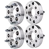 Wheel Spacers for ChevyECCPP 4PCS 1.25 (32mm) 5x4.75 to 5x4.5 | 5x120.65 to 5x114.3 for Chevrolet Chevy S10 GMC Jimmy Pontiac Firebird 01 00 99 98 97 96 95 with 12x1.5 studs [並行輸入品]