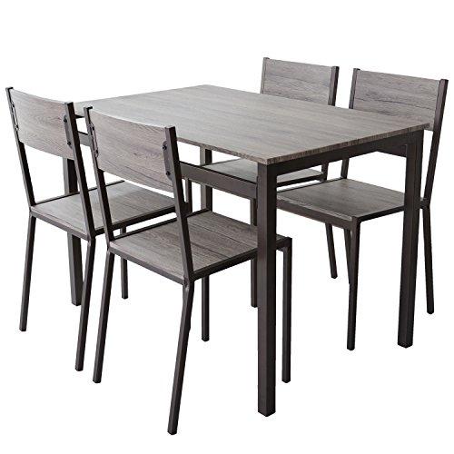 DORIS ダイニングテーブル 5点セット 幅110 テーブ...